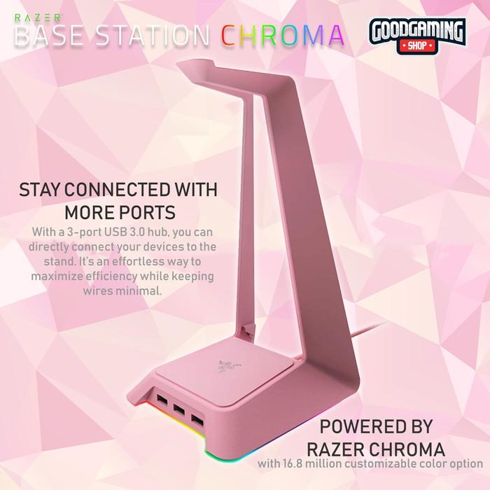 Razer Base Station Chroma - Quartz Edition