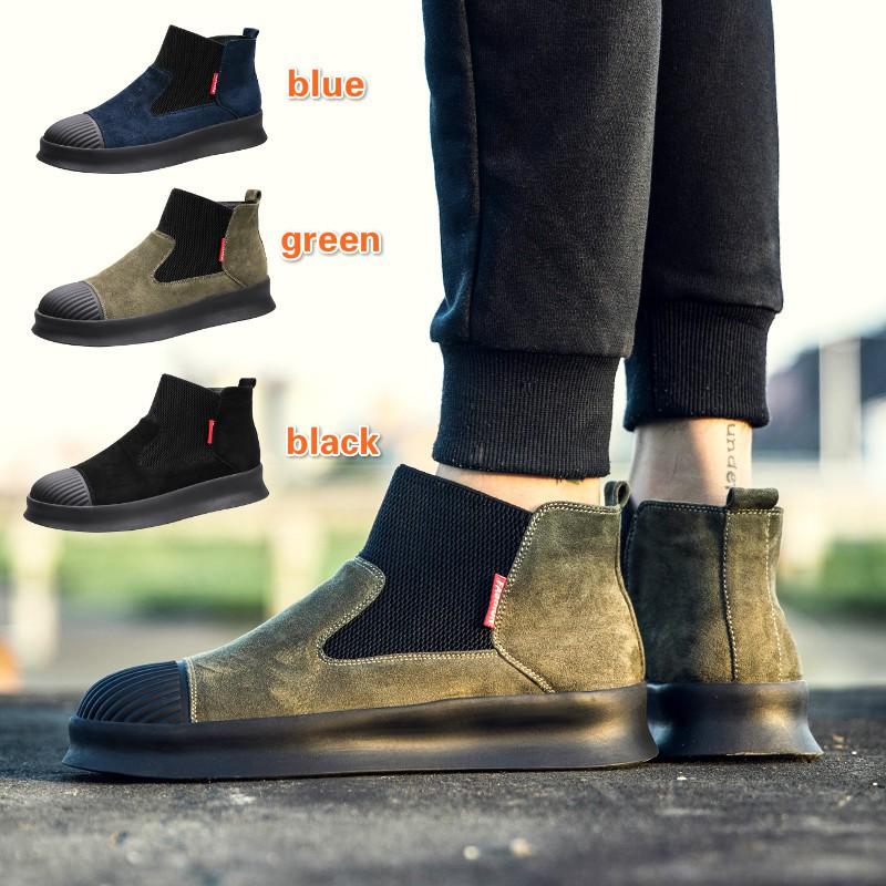 2018 Leather Sepatu Pria sepatu bot Sepatu pengemudi Bernapas Sepatu nyaman  sepatu cantik  05ceb93c2f
