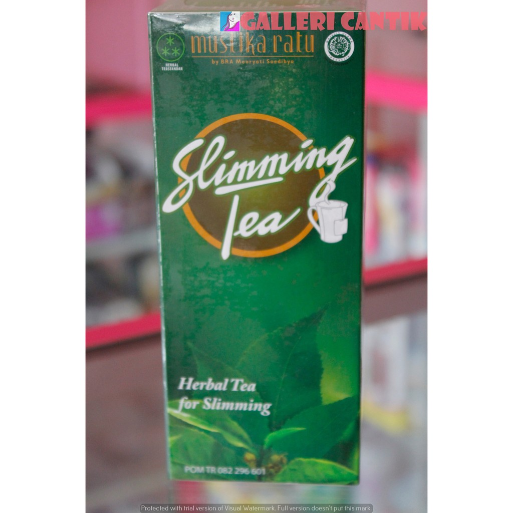 Mustika Ratu Slimming Tea Plus Daun Sirsak Shopee Indonesia Gel Jahe 100 Ml