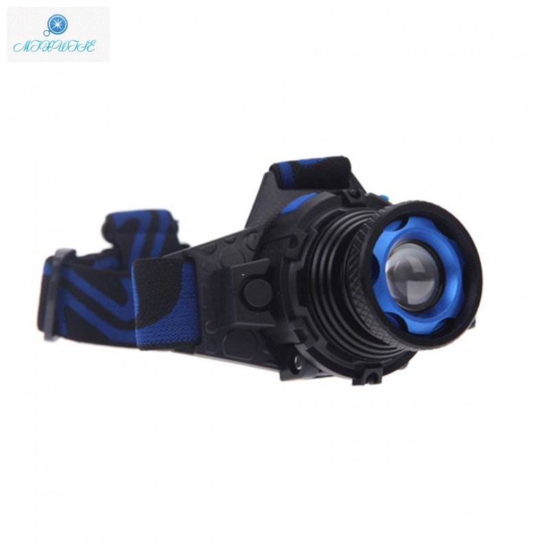 1000LM  XML Q5 LED Headlight Head Lamp Rechargeable Built In Battery Headlamp