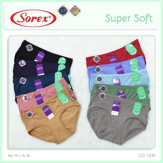 1 Lusin CD sorex atau celana dalam sorex 1239 Super Soft Murah ... b60c358d78
