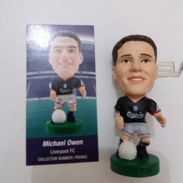 Football Prostars figure Michael Owen Speelgoed en spellen Sport