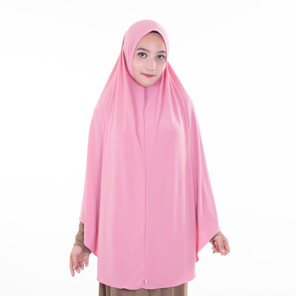 Khimar Super Jumbo Hijab Jilbab Syria Penguin Syiria Syar I Non Pet Matt Jersey Polos Shopee Indonesia
