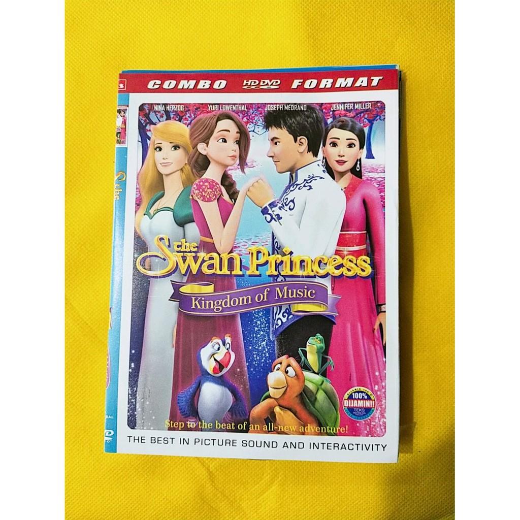 New Dvd Film Untuk Anak Cewek Rapunzel The Swan Princess Terlaris Shopee Indonesia