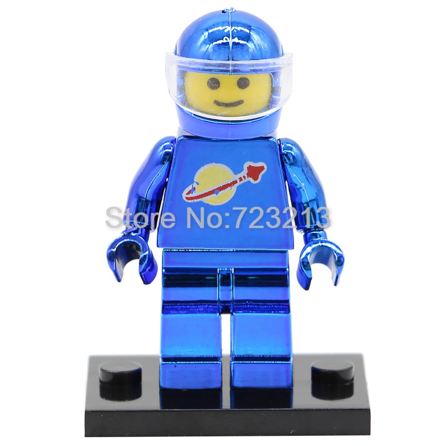 1 Classic Space Astronaut Lego Figuren