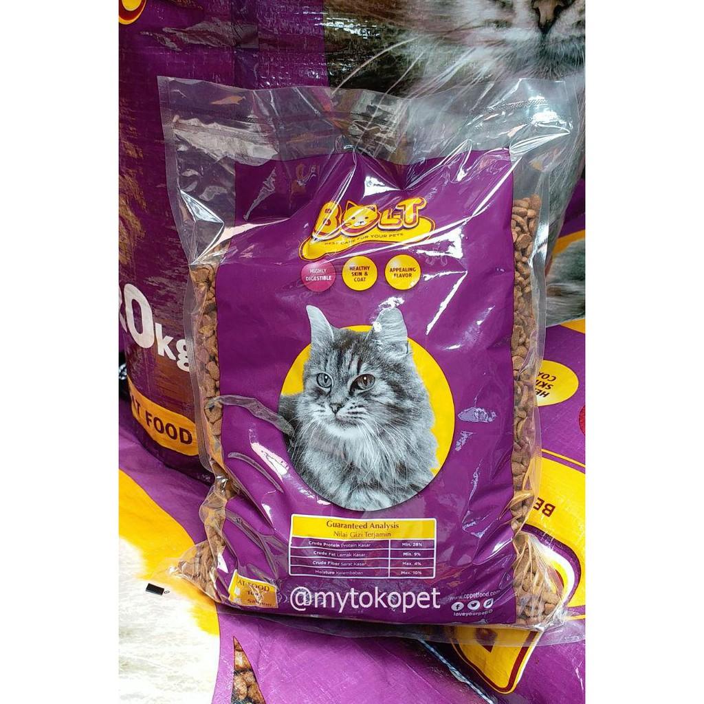 Bolt Makanan Kucing 10kg Shopee Indonesia