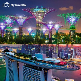 COMBO Tiket Garden By The Bay + Marina Bay Sands Observation Deck Singapore