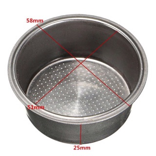 2 Cup Coffee Filter Basket Non Pressurized For Breville