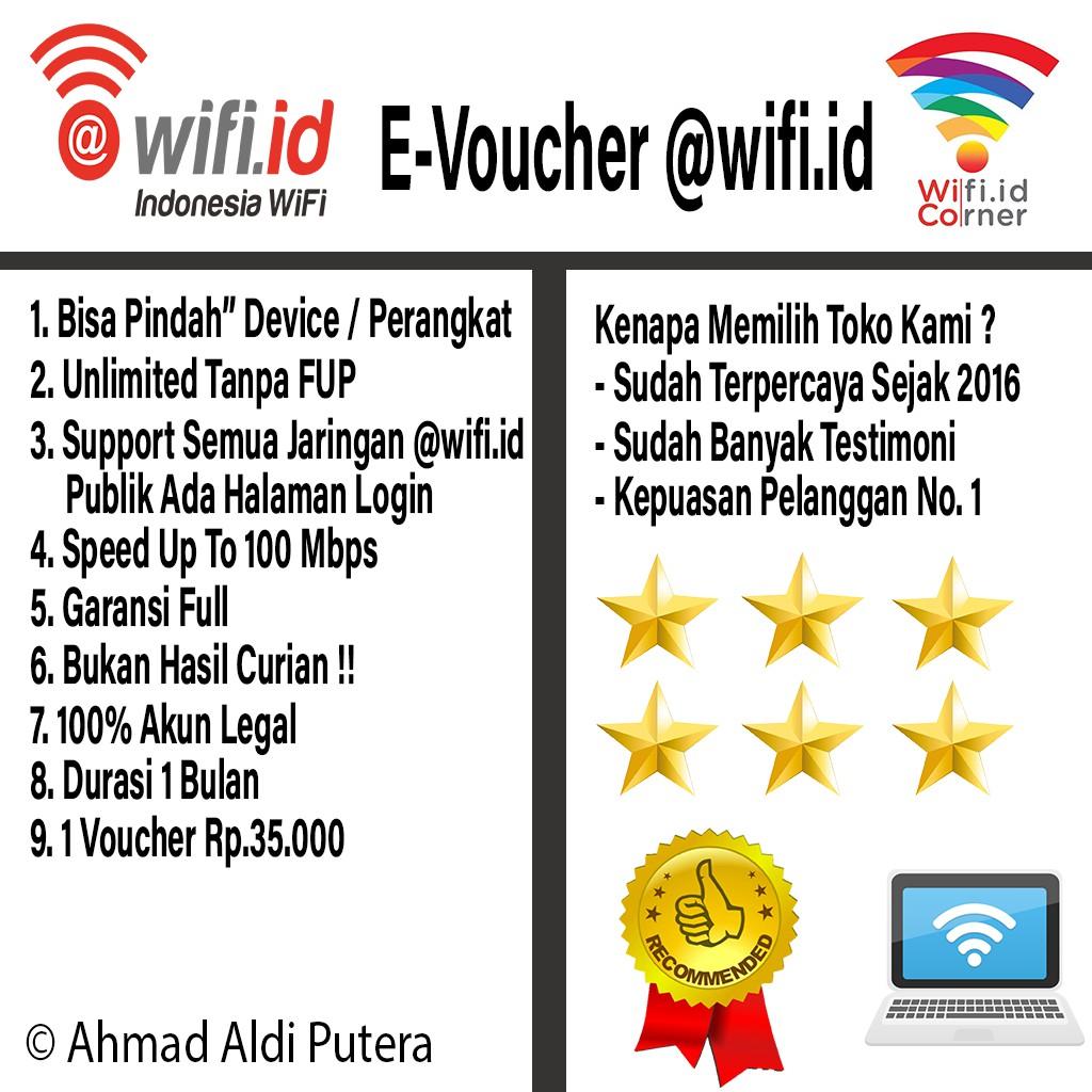 Voucher Wifi Id 1 Bulan Termurah Bukan Komunitas Kampus Termurah Dan Terpercaya Di Shopee Shopee Indonesia
