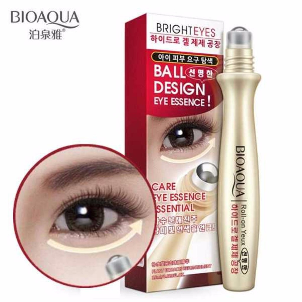 BIOAQUA BRIGHT EYES BALL DESIGN EYE CARE ESSENCE SERUM LOTION CREAM | Shopee Indonesia