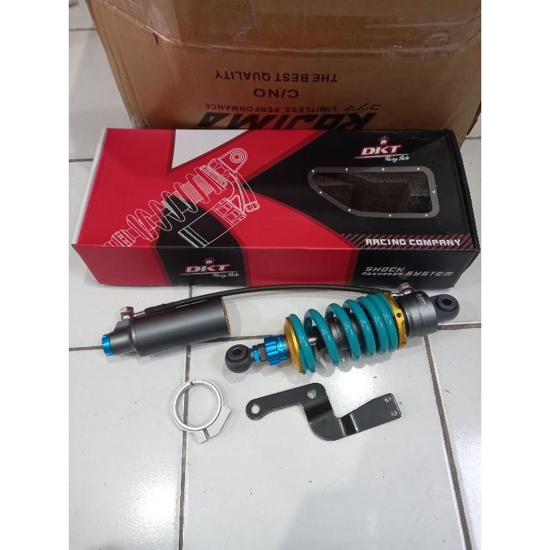 monoshock belakang dkt tabung pisah model nitron sonic old/cbr 150 old thailand/satria 2tak/hiu