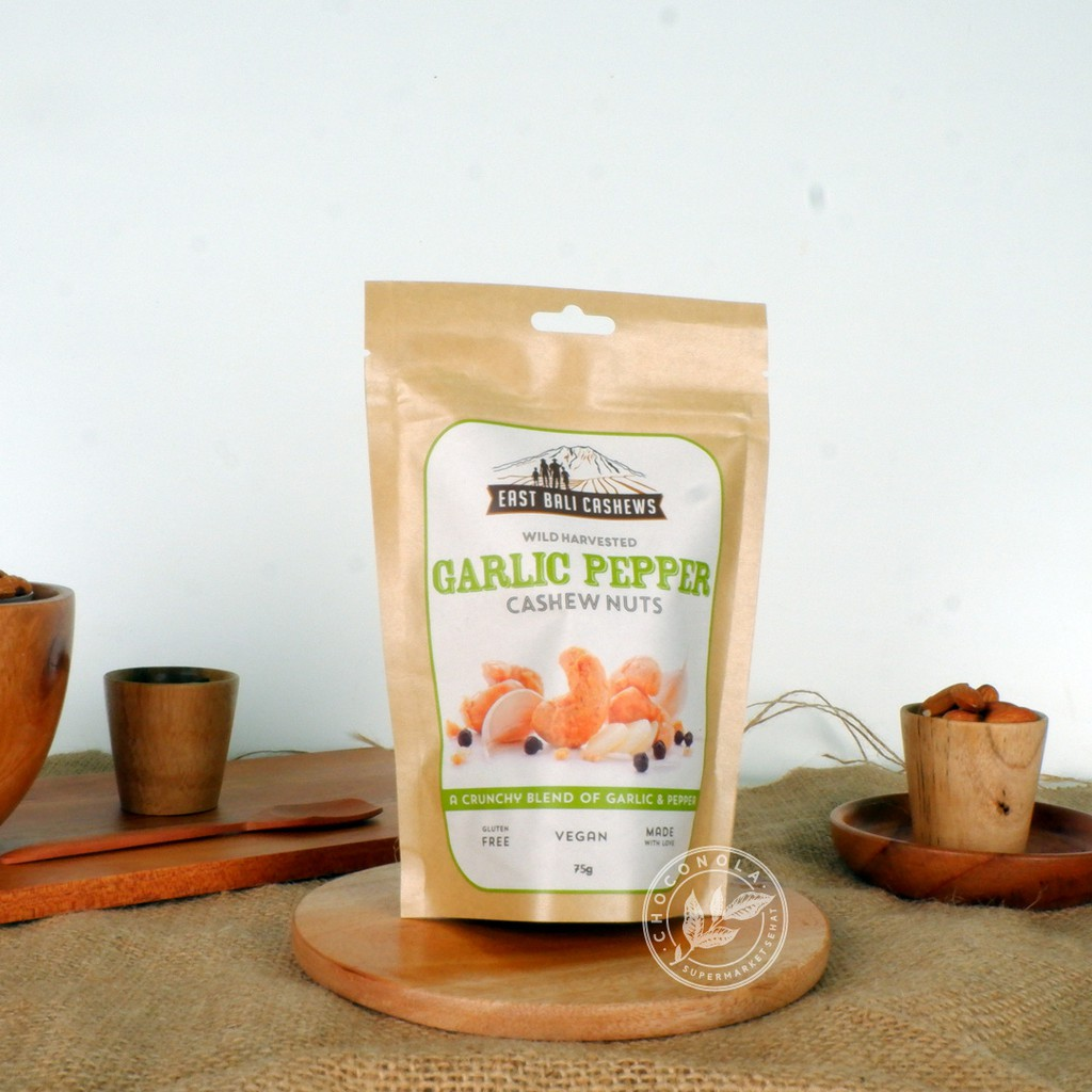 East Bali Cashews Sesame Ginger Nut 75 Gram Shopee Indonesia Cashew Cocoa Nuts 75gr