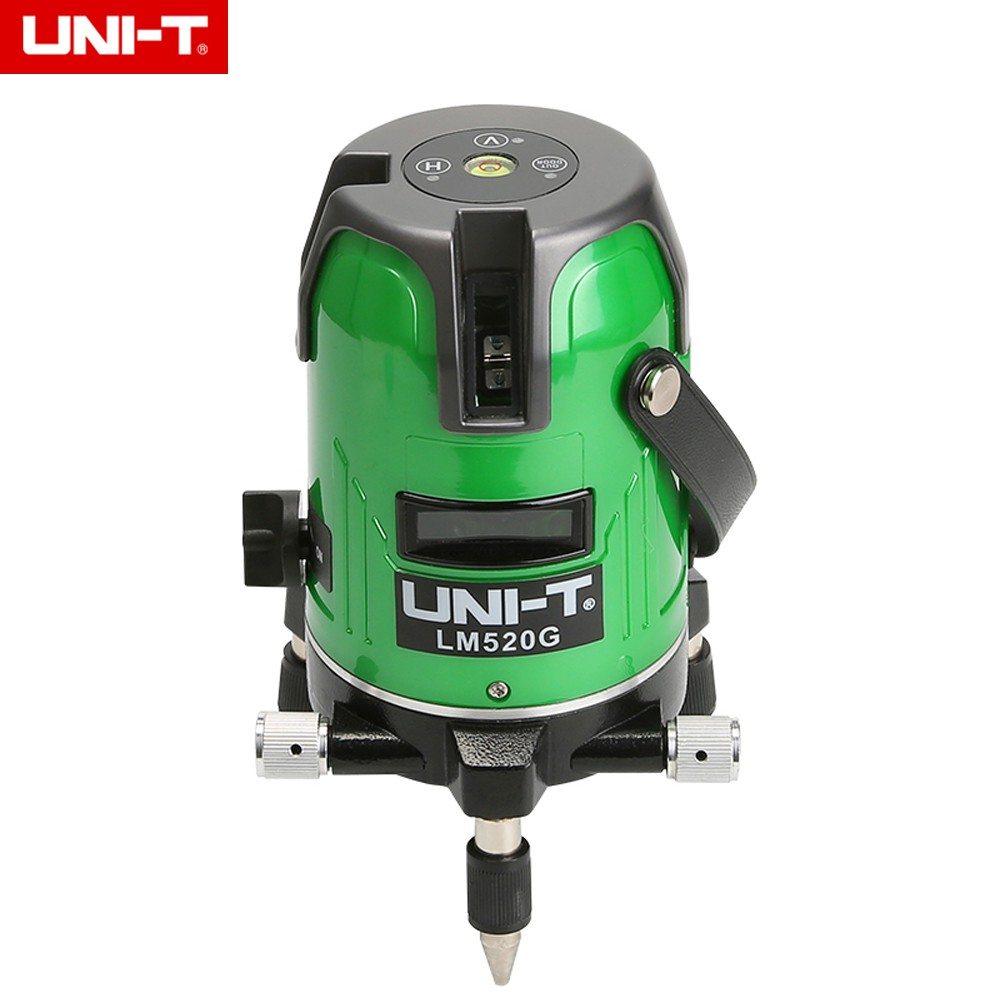 Uni T Lm550g Laser Level 5 3 Titik 360 Derajat Warna Hijau Shopee Line Lever Cross Bosch Gll 50x Kit Tripod Bt150 Indonesia