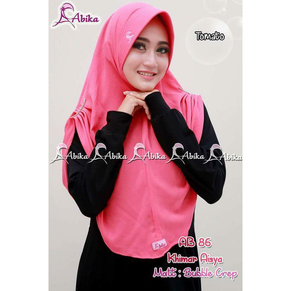 Khimar Aisya By Abika Hijab Shopee Indonesia