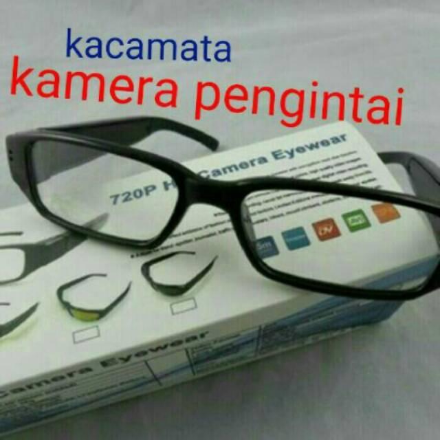 Kacamata Pengintai Kamera Lensa Bening - Spy Cam Eye Wear Camera ... eae2080ab6