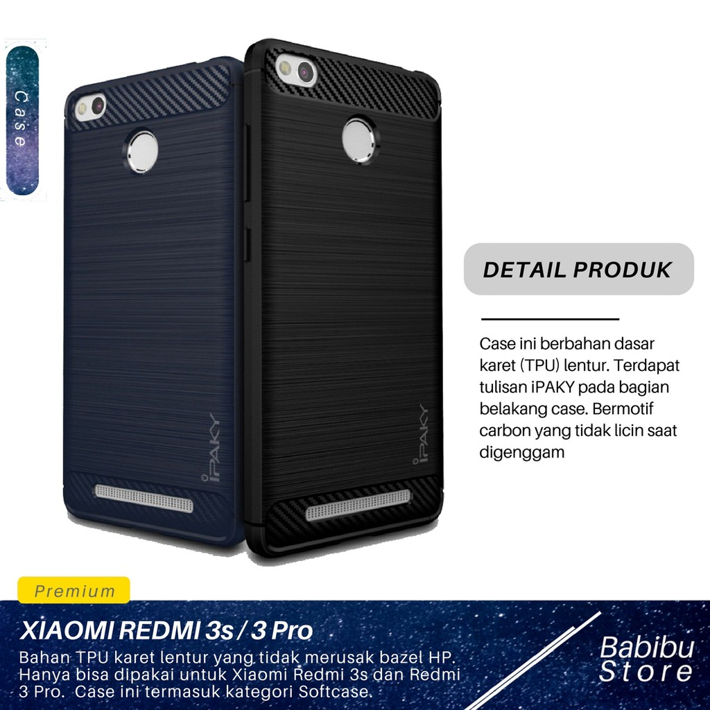 Case Xiaomi Redmi 3 Pro / 3s Ironman Series With Kick Stand Mode | Shopee Indonesia