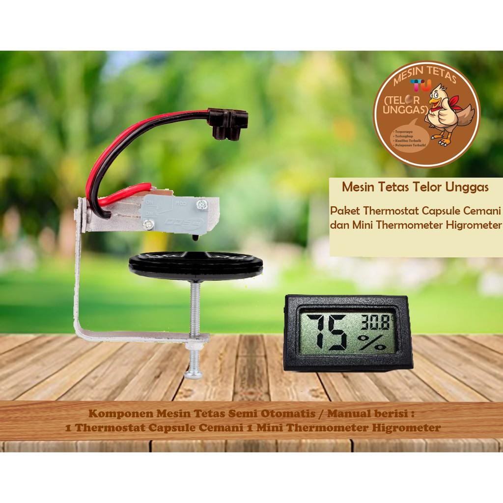 Thermostat Capsule Mesin Tetas Cemani Shopee Indonesia Digital Temperature Control Pemanas