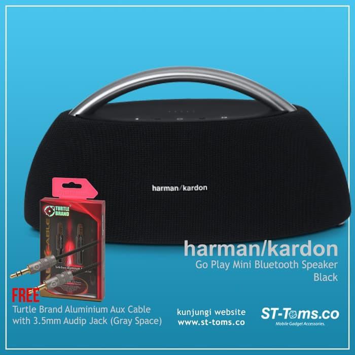 Harman Kardon Go Play Mini Bluetooth Speaker Hitam Best Seller Shopee Indonesia