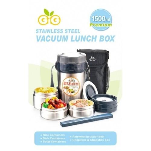 GiG Baby Rounded (Hijau) Lunch Box, Kotak Makan Stainless Tahan Panas | Shopee Indonesia