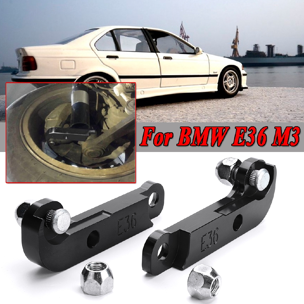Adapter Increasing Turn Angles About 25 30 Drift Lock Kit For Bmw E36 M3 Black Shopee Indonesia