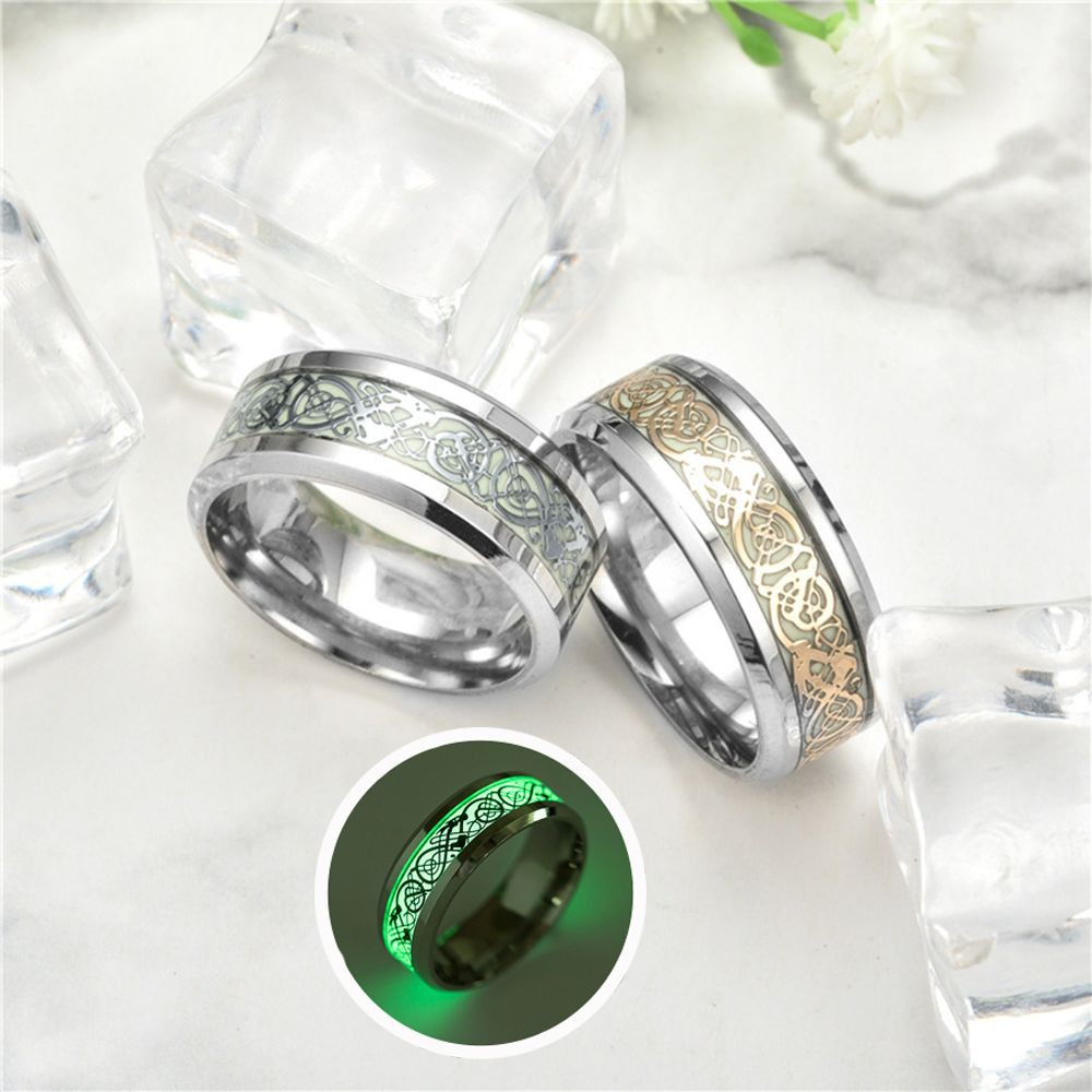 Ring Jewelry Titanium Steel&316L Stainless Steel US Size For Woman/Man Wedding | Shopee Indonesia