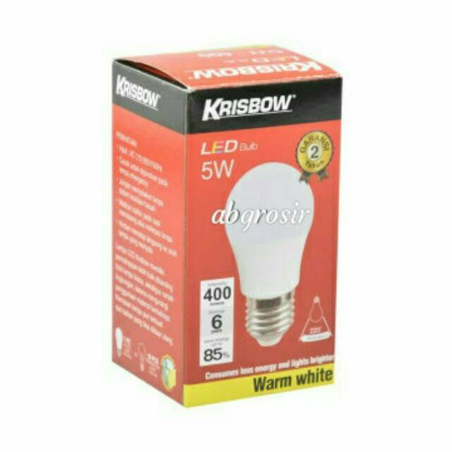 Krisbow Lampu Led 5 Watt Shopee Indonesia