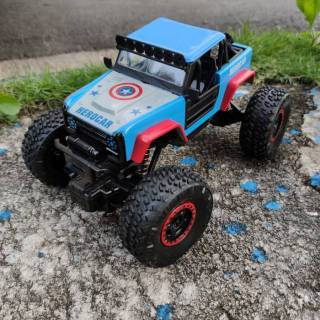 Jeep Rock Crawler >> Mobil Remote Control Rock Crawler Rc Rock Crawler Rock Hero Car Big Foot Jeep Avengers 2 4 Ghz