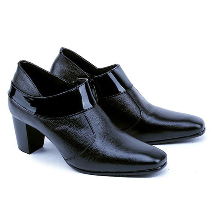 Sepatu - Heels - Fashion Wanita Sepatu Kerja Kantor Formal Wanita Kulit  Kode   Aztp 7b00d7761c