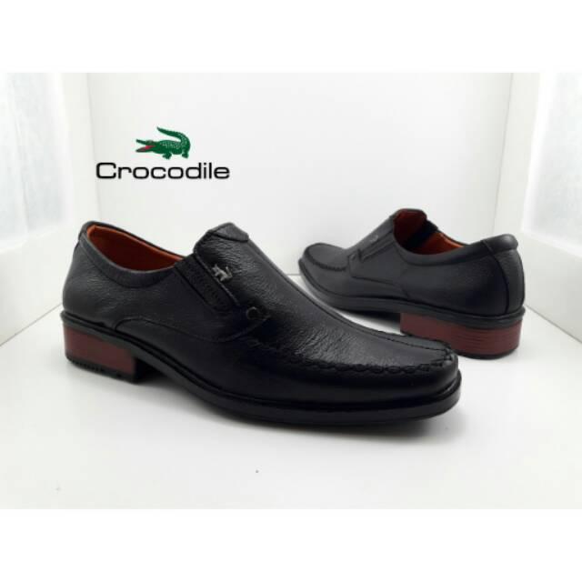 Sepatu slop Kulit asli crocodile tersedia 3 pilihan warna kulit asli  68a62c182c