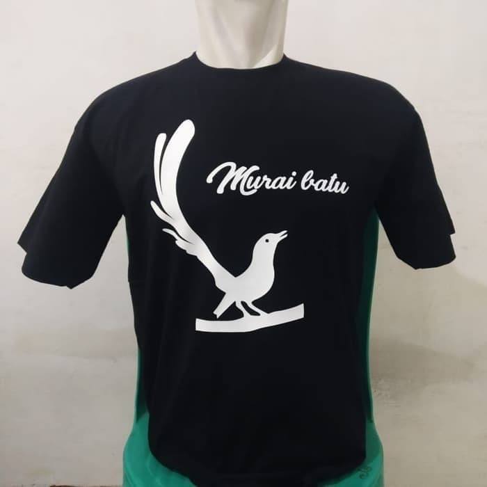 Cj 610 Kaos Baju Combed 30s Distro Burung Murai Batu Polos Custom Shopee Indonesia