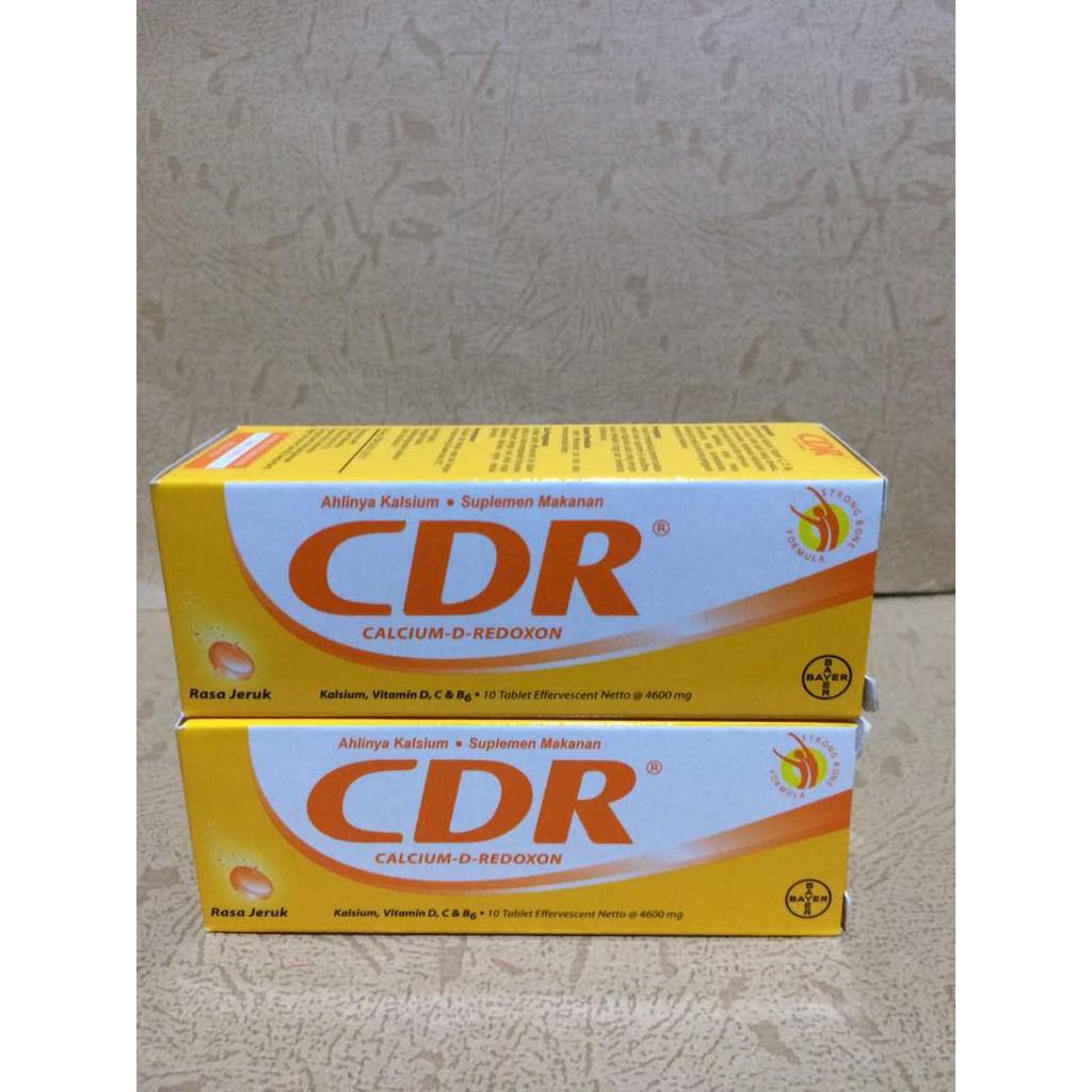 Cdr Calcium Redoxon Isi 15 Pcs Shopee Indonesia Tablet