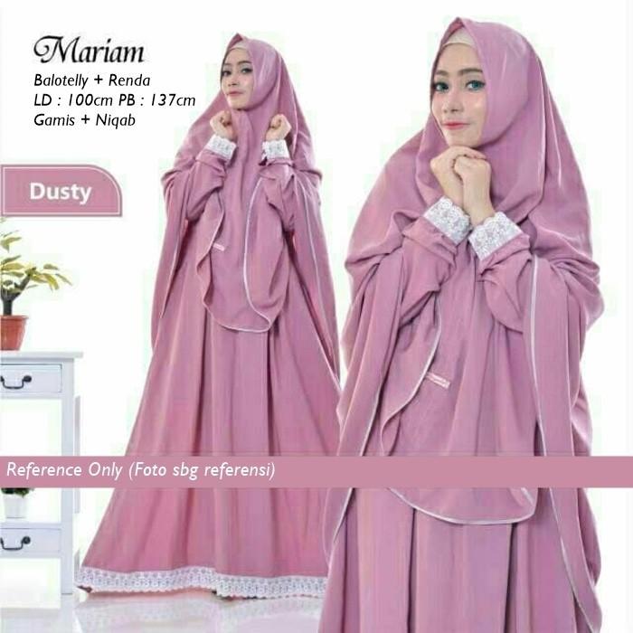 Harga Promo Gamis Syari Hawwa Aiwa Brukat Hijab Pakaian Wanita Busana Muslim Maxi Fashion E6d1 Shopee Indonesia