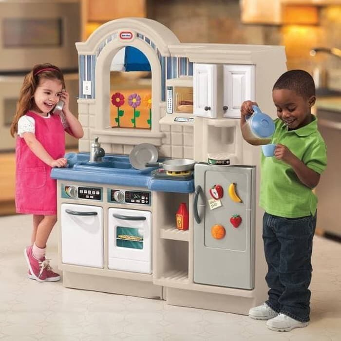 Meichow00032 Little Tikes Kitchen Inside Outside Jadetabek Berkualitas Shopee Indonesia