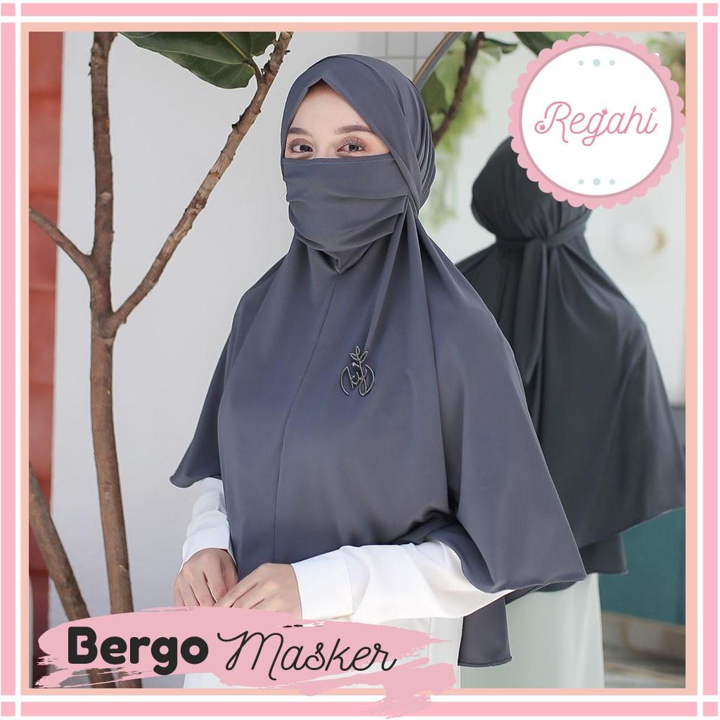 13 Warna Bergo Maryam Hijab Niqab Hijab Instan Masker Jilbab Masker Jilbab Instan Bergo Tali Shopee Indonesia