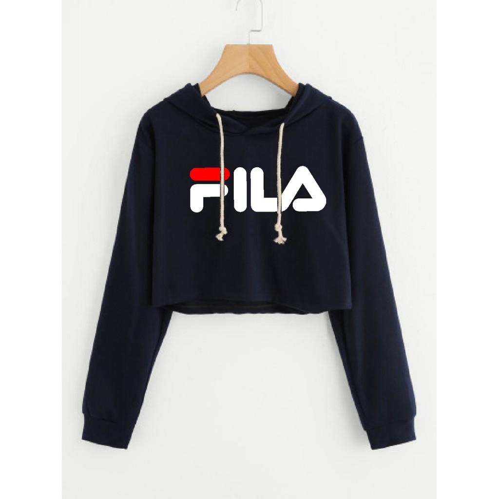 MichelleStore Sweater Wanita Crop Hoodie HONEY Garis Lengan Fit XL | Shopee Indonesia