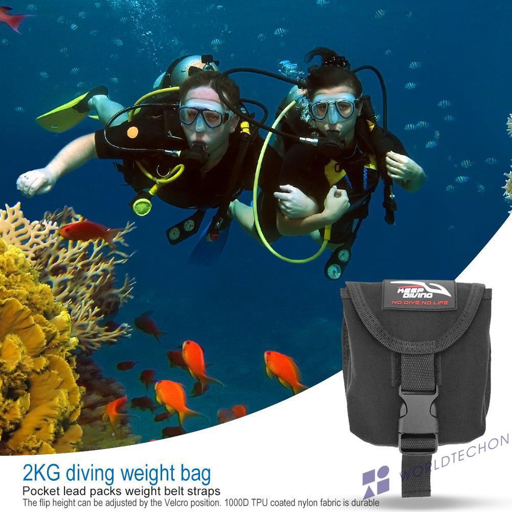 Tas Pinggang Pouch Penyimpanan untuk Scuba Diving