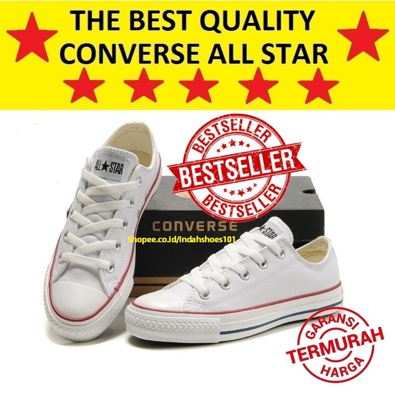 Made in Vietnam) Sepatu Converse All Star Chuck Taylor Putih   White ... c20b1bc0a9