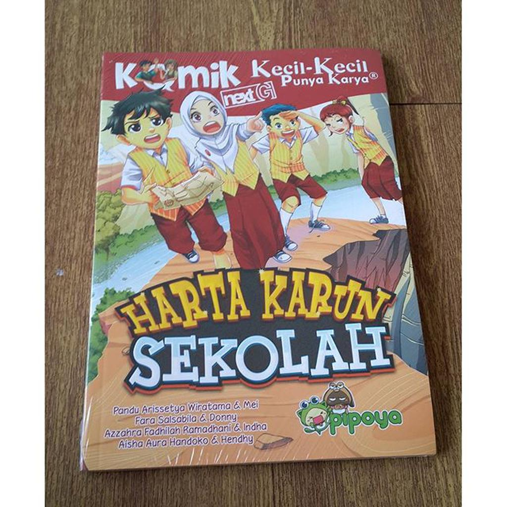 Komik Ghost School Day Drama Queen Shopee Indonesia Paket Firia