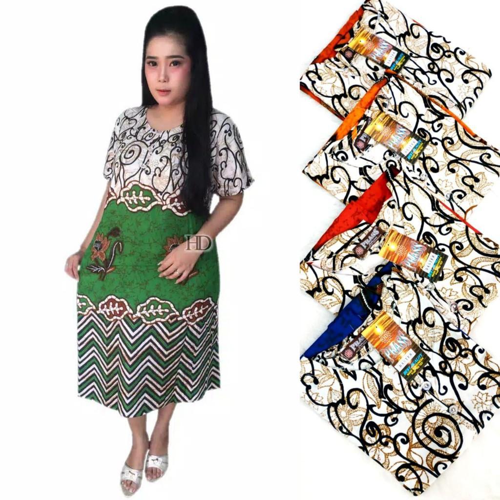 Daster batik murah batik busui rayon halus (HD-4850) terlaris ... ec215b1737
