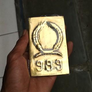 Paket Lempengan Emas Batangan Kuningan Shopee Indonesia