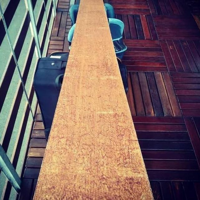 Pasti Irit Kayu / Grc Papan Motif Kayu Untuk Pagar Dan Dinding Wood Plank  Cm