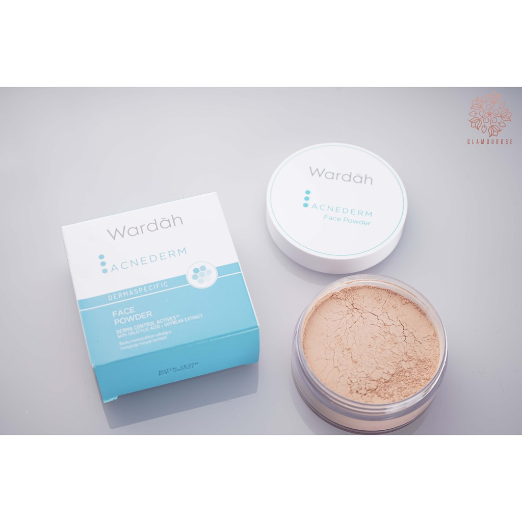 Wardah Acnederm Face Powder / Wardah Acne Face Powder 20gr | Shopee Indonesia