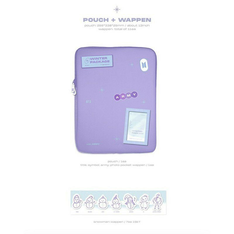 [SHARING] BTS 2021 - WINTER PACKAGE POUCH & PHOTOBOOK