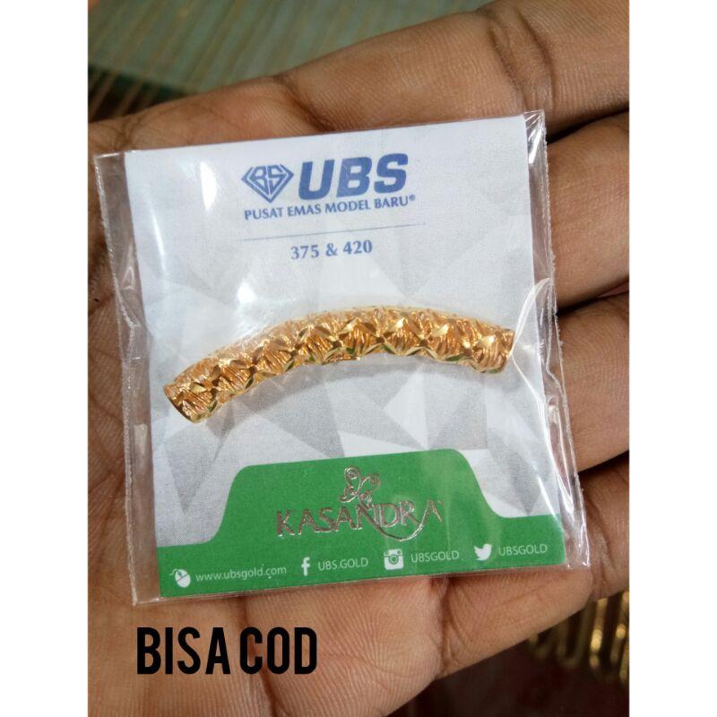 Charm  emas asli kadar 375/420 UBS