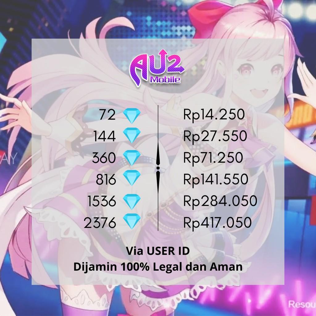 [RESMI & CEPAT] Top Diamond AU2 Mobile Via User ID #2