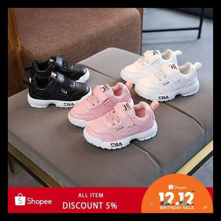 Sepatu Sport Anak Merk Fila Model Casual Shopee Indonesia