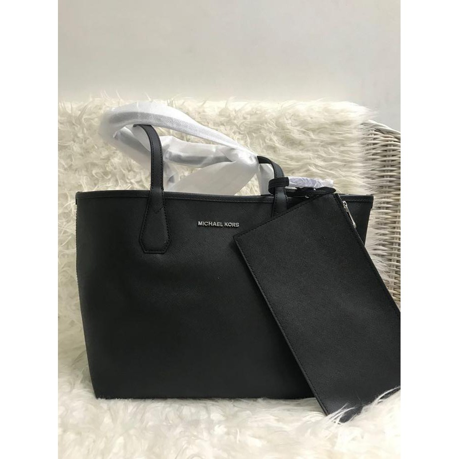 c0181f0ec3e5 Star Seller Michael Kors Ew Lg Tote Black Tas Mk Original New.,,, | Shopee  Indonesia