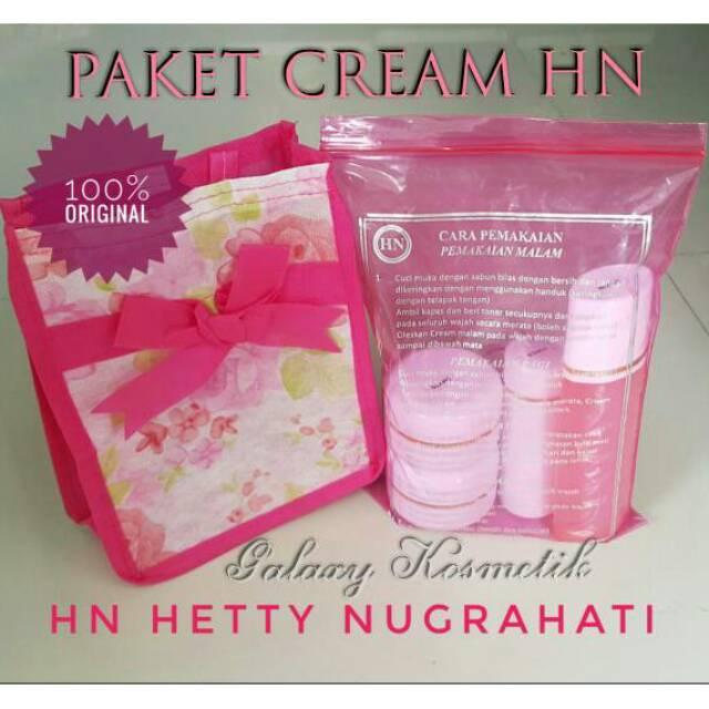 Paket Cream/Krim HN Hetty Nugrahati Original 100% ukuran 15 gram Garansi Uang Kembali | Shopee Indonesia