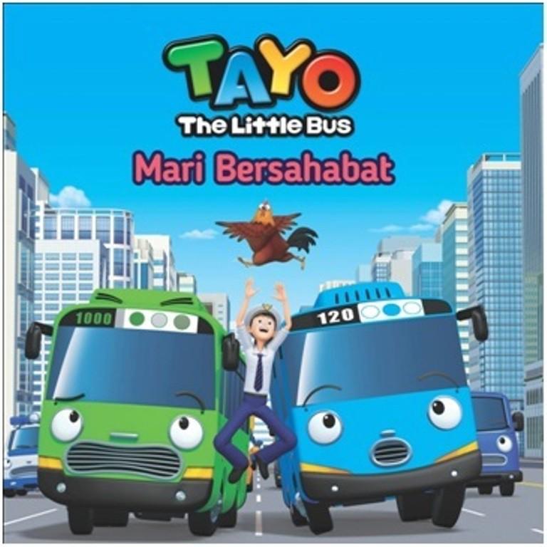 Seri Tayo Si Bus Kecil Mari Bersahabat Shopee Indonesia