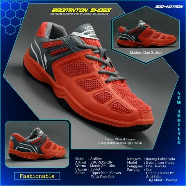 Sepatu Bulutangkis Badminton Volley Ardiles Nayron  648809ec65